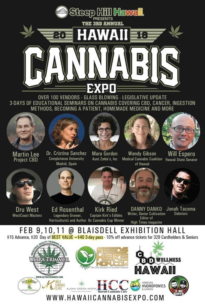cannabis expo 2018 flyer