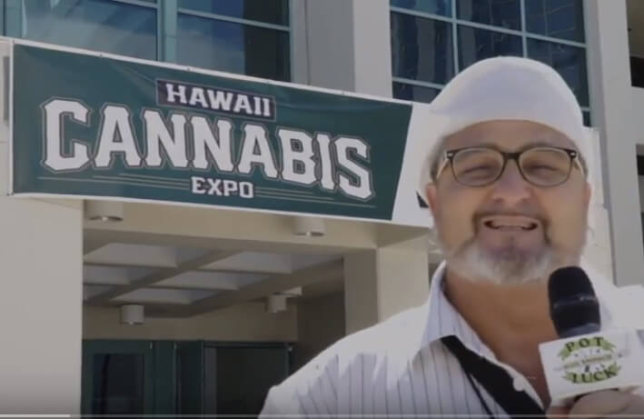 Smooch at the Hawaii Cannabis Expo 2018