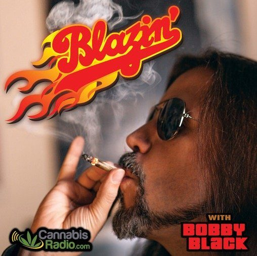 Blazing with Bobby Black Photo and Logo