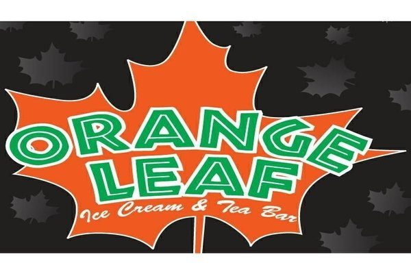 orange leaf at Hawaii Cannabis Expo